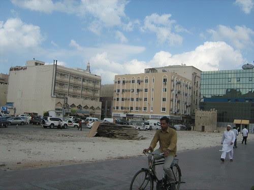 A man cycling through Diera