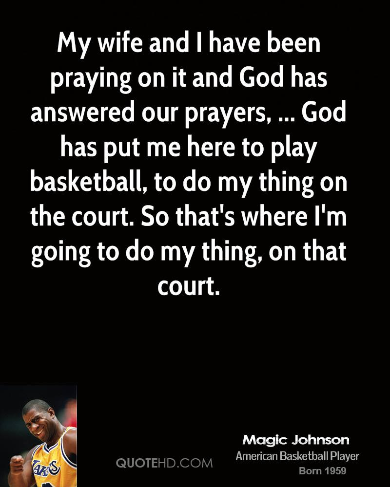 Magic Johnson Wife Quotes Quotehd