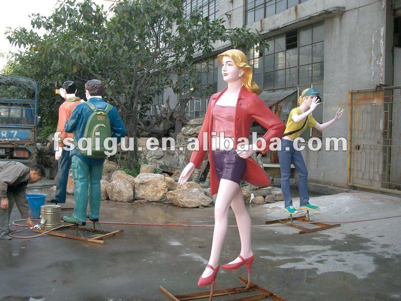 Resin Statues,3d Art Sculptures,Modern Garden Sculpture - Buy ...