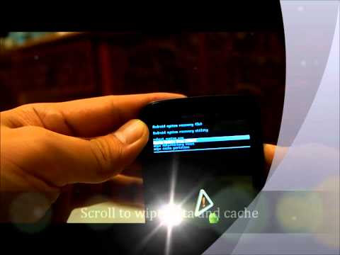 Hard Reset / Format Motorola Atrix 4G MB860