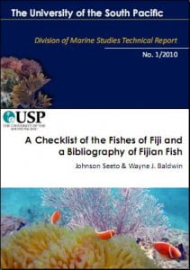 A Checklist of the Fishes of Fiji and a Bibliography of Fijian  Fish