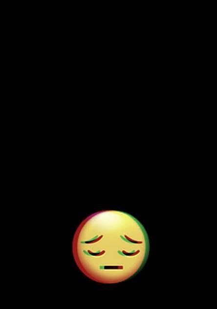 Get Inspired For Wallpaper Dark Iphone Sad Emoji Wallpaper Theme