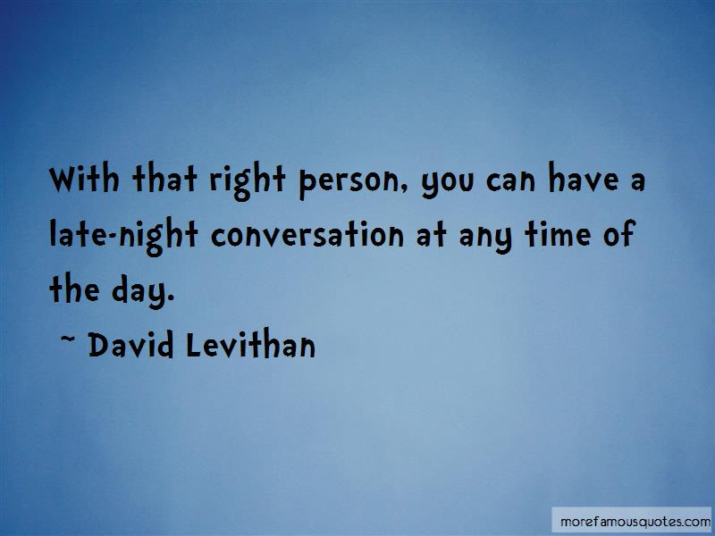 Late Night Conversation Quotes Top 9 Quotes About Late Night