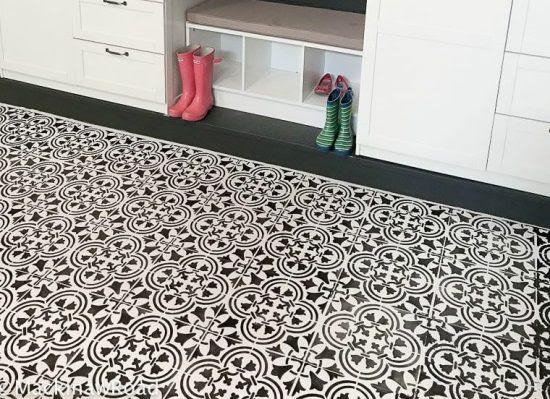 Floor Tiles How To Tile A Concrete In Basement
