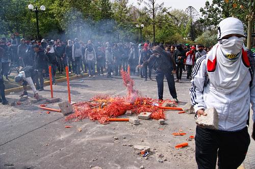 Protesta estudiantil 13 de octubre by Alejandro Bonilla