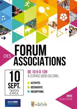 Forum des associations de Puget-Ville