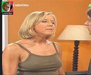 Rosa Bella sensual no programa Ora Viva