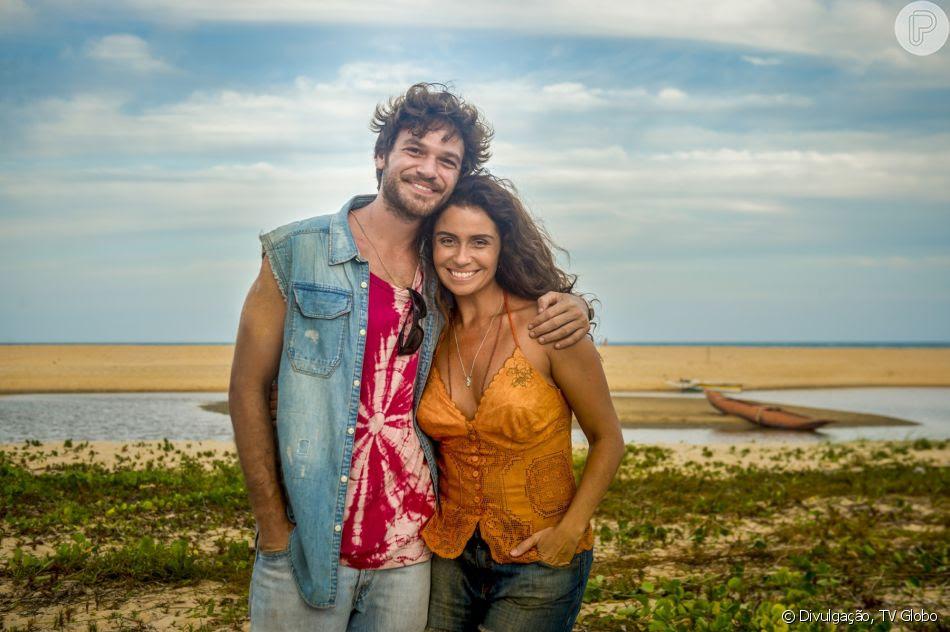 Beto Falcão (Emilio Dantas) e Luzia (Giovanna Antonelli) vivem um amor cheio de barreiras na novela 'Segundo Sol'