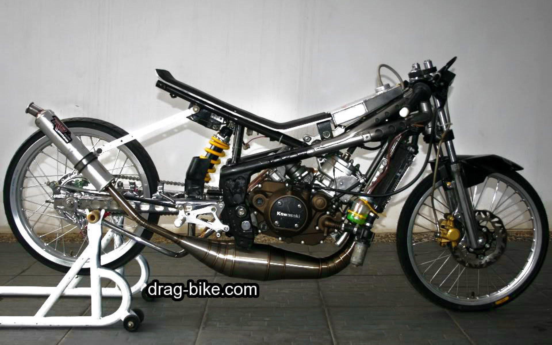 Foto Modifikasi Motor Drag Ninja Terkeren Dan Terbaru