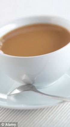 More benefits: A cup of tea can improve brain power, a new study has claimed