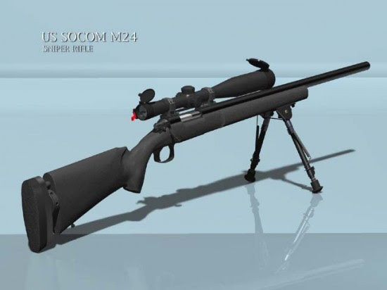 M24 001 550x412 Top 10 Sniper Rifles