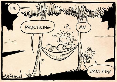 Laugh-Out-Loud Cats #2296 by Ape Lad