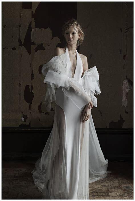 Vera Wang Wedding Dresses Spring 2016   Deer Pearl Flowers