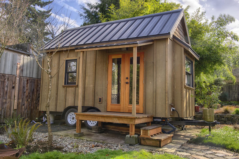 Gina's Tiny House at POD49 -Photo byChristopher Tack