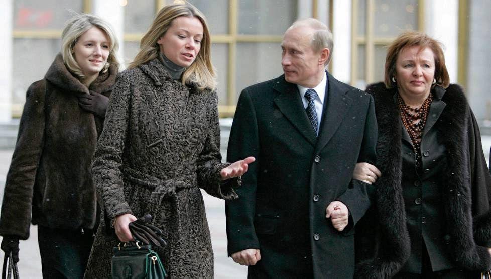 дочери Путина - Маша и Катя Путина (фото, свадьба)