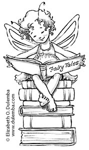 dulemba: Coloring Page Tuesday! - Reading Fairy
