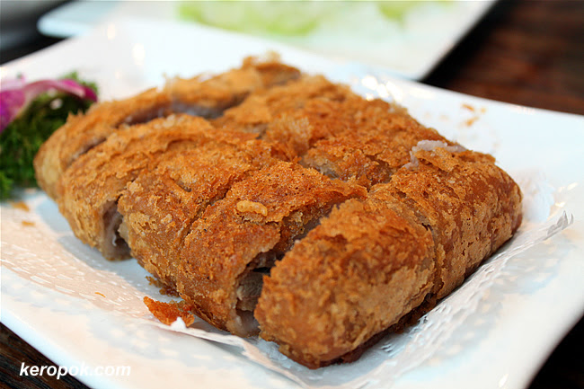 Deep Fried Duck with Yam