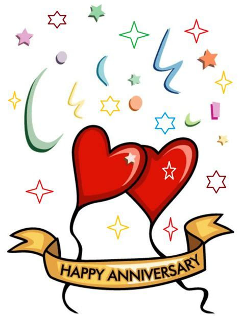 Happy Marriage Anniversary Clipart Wishes   Best Wishes