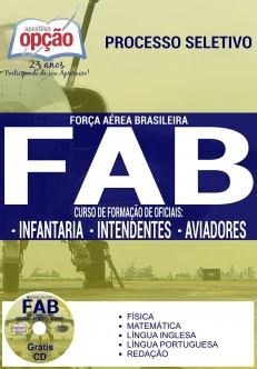 Força Aérea Brasileira (FAB)-INFANTARIA, INTENDENTES E AVIADORES