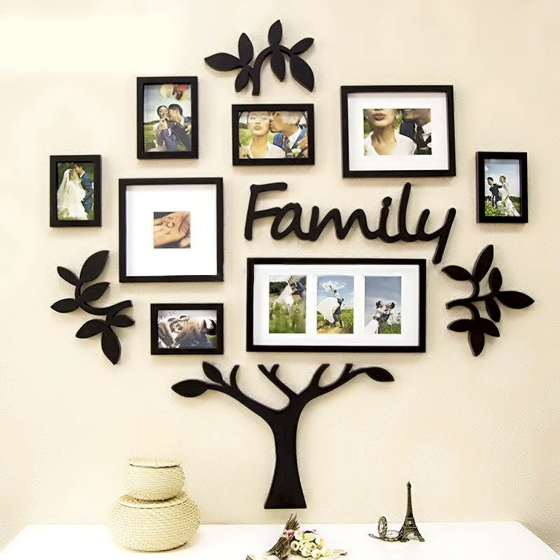 Frame Set Family Tree Acrylic Wall Art Elifor Online Shopping