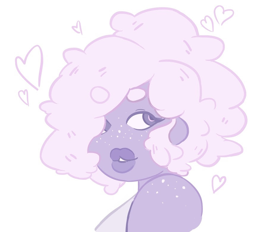 amethyst doodle icons! trying out a new style 🌟 feel free to use, but please credit me if you do!