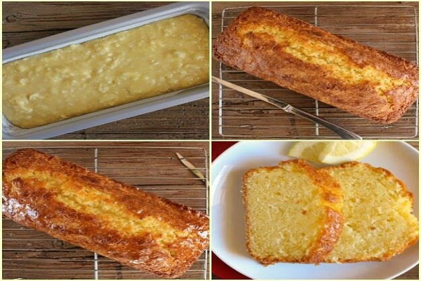 BEST HOMEMADE LEMON BREAD - Best Cooking recipes In the world
