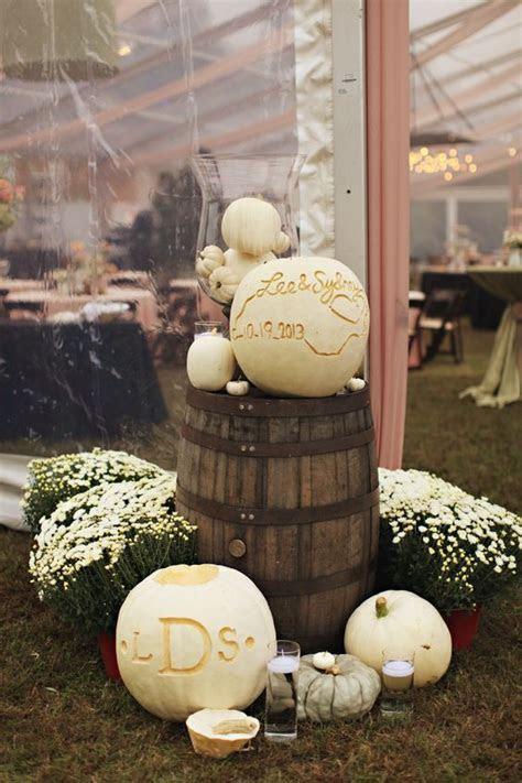 65 Amazing Fall Pumpkins Wedding Decor Ideas ? Page 4 ? Hi