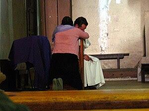 Santo Domingo. Confession of a woman.