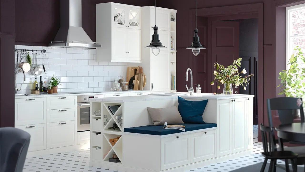 Bank Küche Ikea  Havsta Tv-bank Mit Sockel - Weiß - Ikea