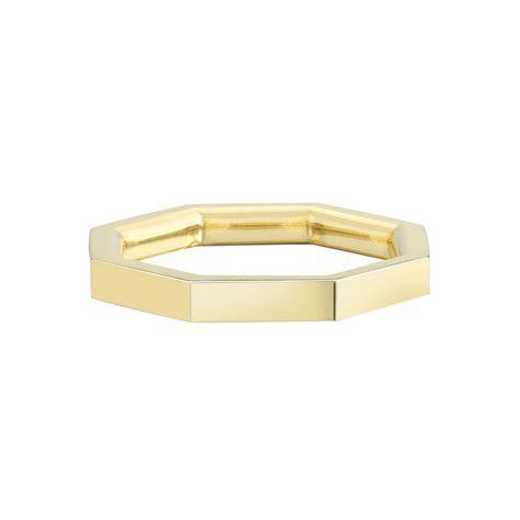 Octagon Ring in 2019   weddinggg   Rings, Wedding bands