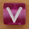 Bead Letter V