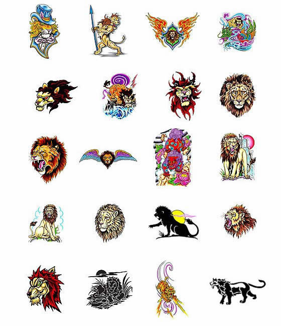 Lion Tattoos What Do They Mean Lion Tattoos Designs Symbols