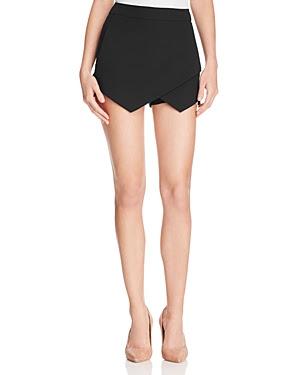 Aqua Wrap Front Shorts