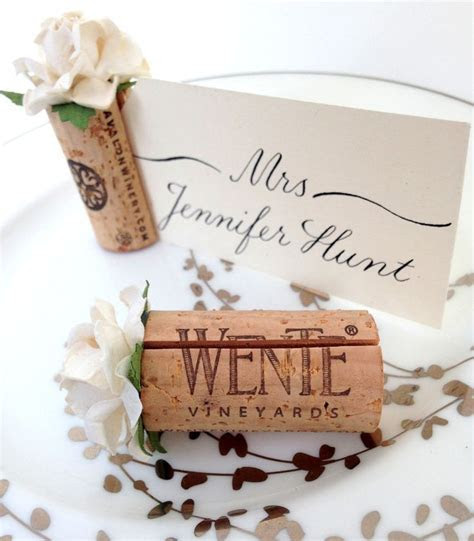 Succulent Place Card Holder   Wedding   Wedding place