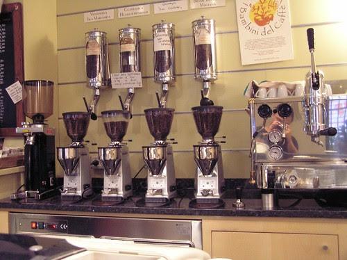 (1/2 of the) Single origin eespresso selection, Caffe del Doge, Rialto