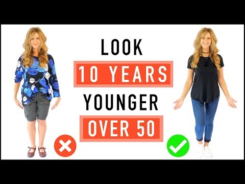 Look 10 Years Younger | CASUAL OUTFIT Ideas And Style Tips For Mature Wo...