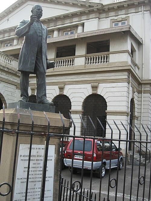 Image result for Gokuldas pasta statue