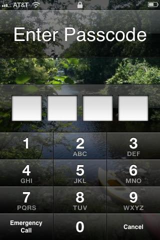 passcode phone