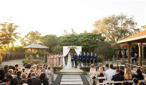 A Garden Wedding in Miami is Possible at These GORG Venues