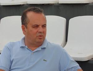 Rogério Marinho, vice-presidente administrativo e financeiro do ABC (Foto: Carlos Arthur da Cruz/GloboEsporte.com)
