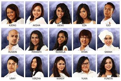 15 Vinalis Indonesia Idol 2014