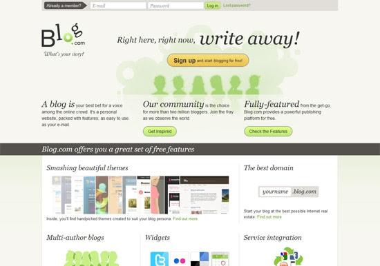 free blog platform