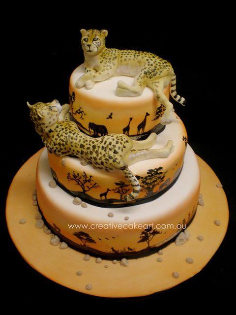 creative cake art wedding cakes (46) by www.creativecakeart.com.au, via Flickr