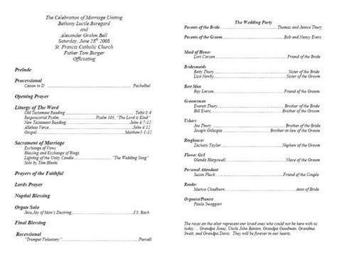 memorial service programs sample   This is what your