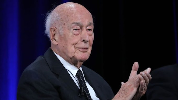 Giscard d'Estaing, Ex- French President  Dies Of Covid-19