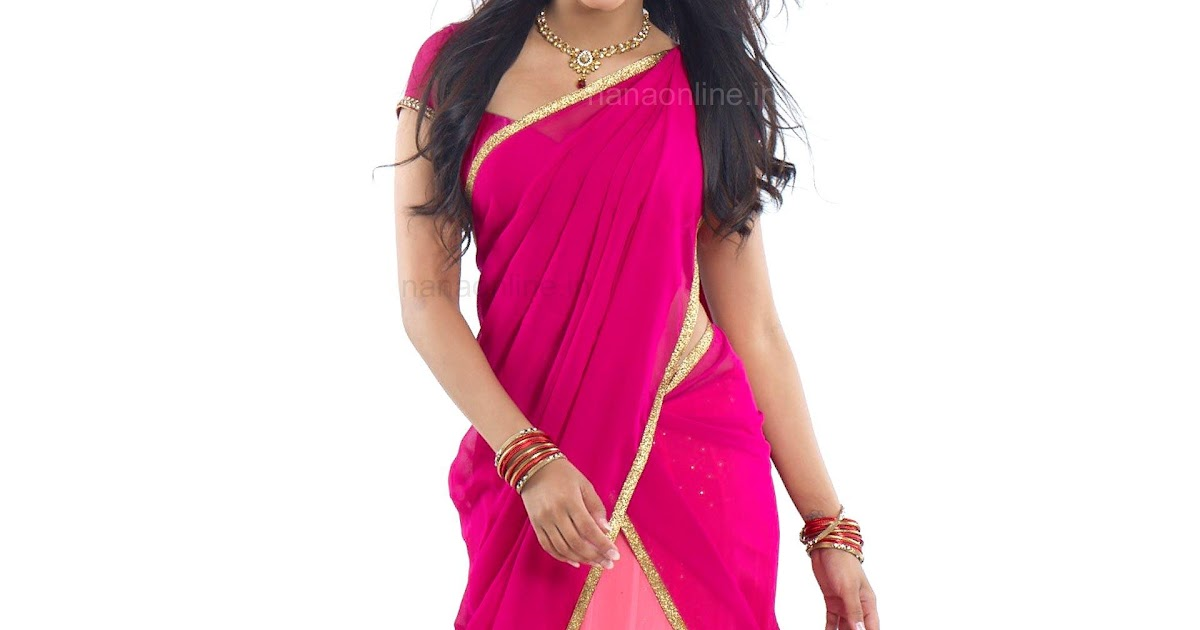 Shruti Haasan In Pink Half Saree From Poojai Movie Photo