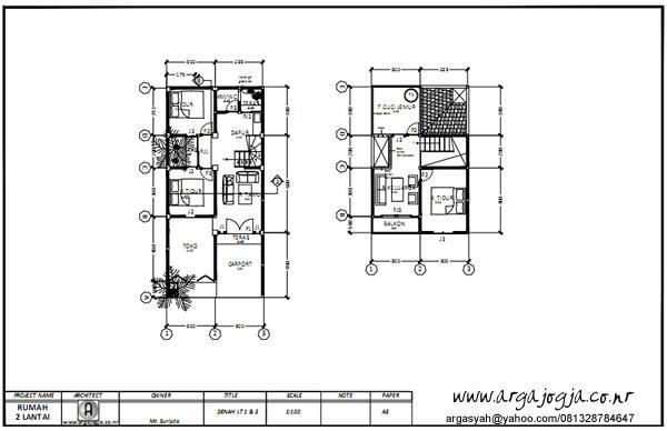 85 Gambar Rumah 2 Lantai Pdf HD