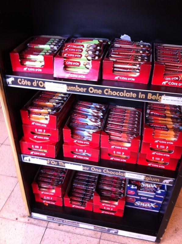 Chocolat belge côté d'or frikadel
