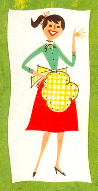 Knox Salad Book: Girl on back