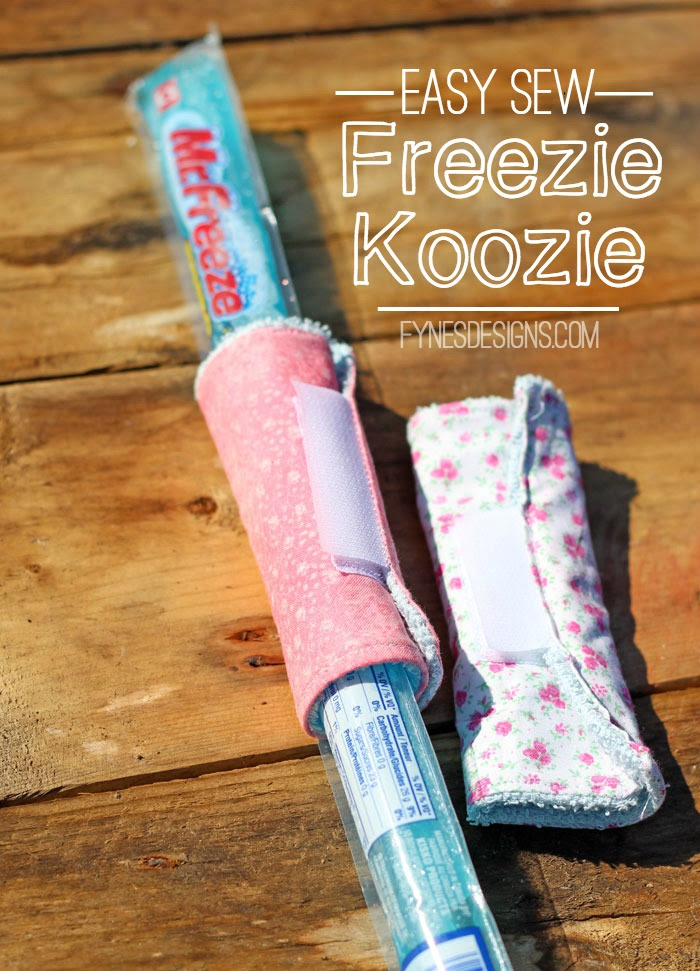 Easy Sew Freezie Koozie